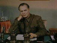 Николай Охлопков в роли Батманова, экранизация 1950 года